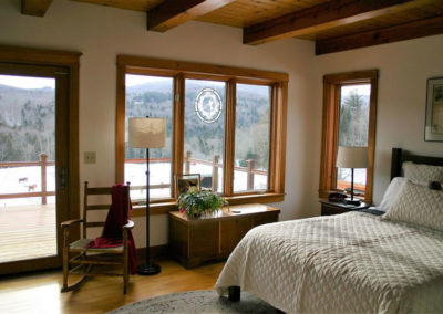 Bedroom   Vermont Horse Farm & Vacation Rental in Fayston, Vermont