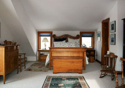 Bedroom | Vermont Horse Farm & Vacation Rental in Fayston, Vermont