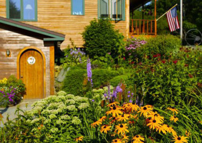 Garden | Vermont Horse Farm & Vacation Rental in Fayston, Vermont