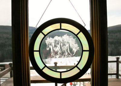 Door Horse | Vermont Horse Farm & Vacation Rental in Fayston, Vermont