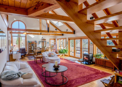 Vermont Living Room | Vermont Icelandic Horse Farm & Lodging in Waitsfield