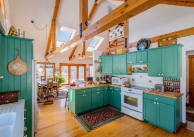 Vermont Kitchen Room | Vermont Icelandic Horse Farm & Lodging in Waitsfield