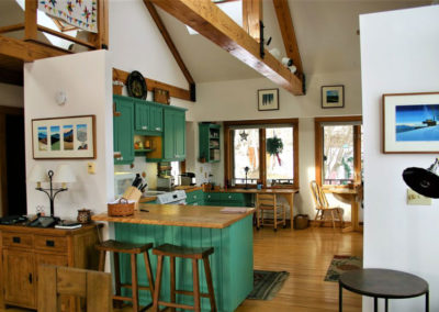 Kitchen | Vermont Horse Farm & Vacation Rental in Fayston, Vermont