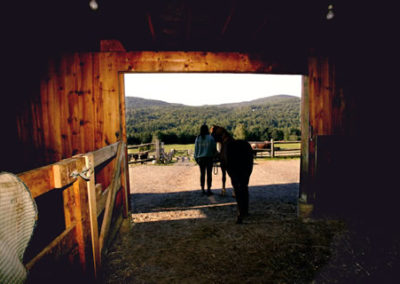 Stable | Vermont Icelandic Horse Farm & Vacation Rental in Waitsfield