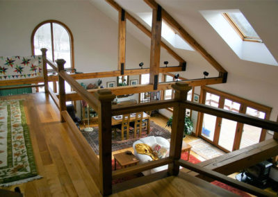 Stairs | Vermont Horse Farm & Vacation Rental in Fayston, Vermont