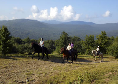 Trail Ride | Vermont Horse Farm & Vacation Rental in Fayston, Vermont